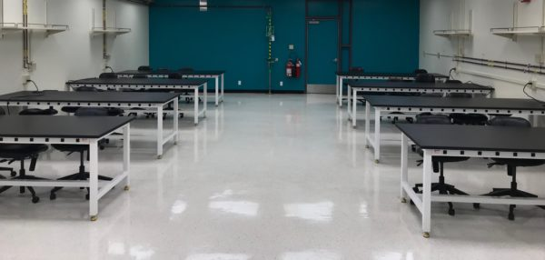 Customized design for laboratory and technical furniture