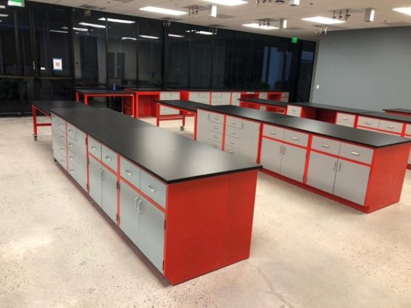 We have a wide variety and customizable laboratory furniture