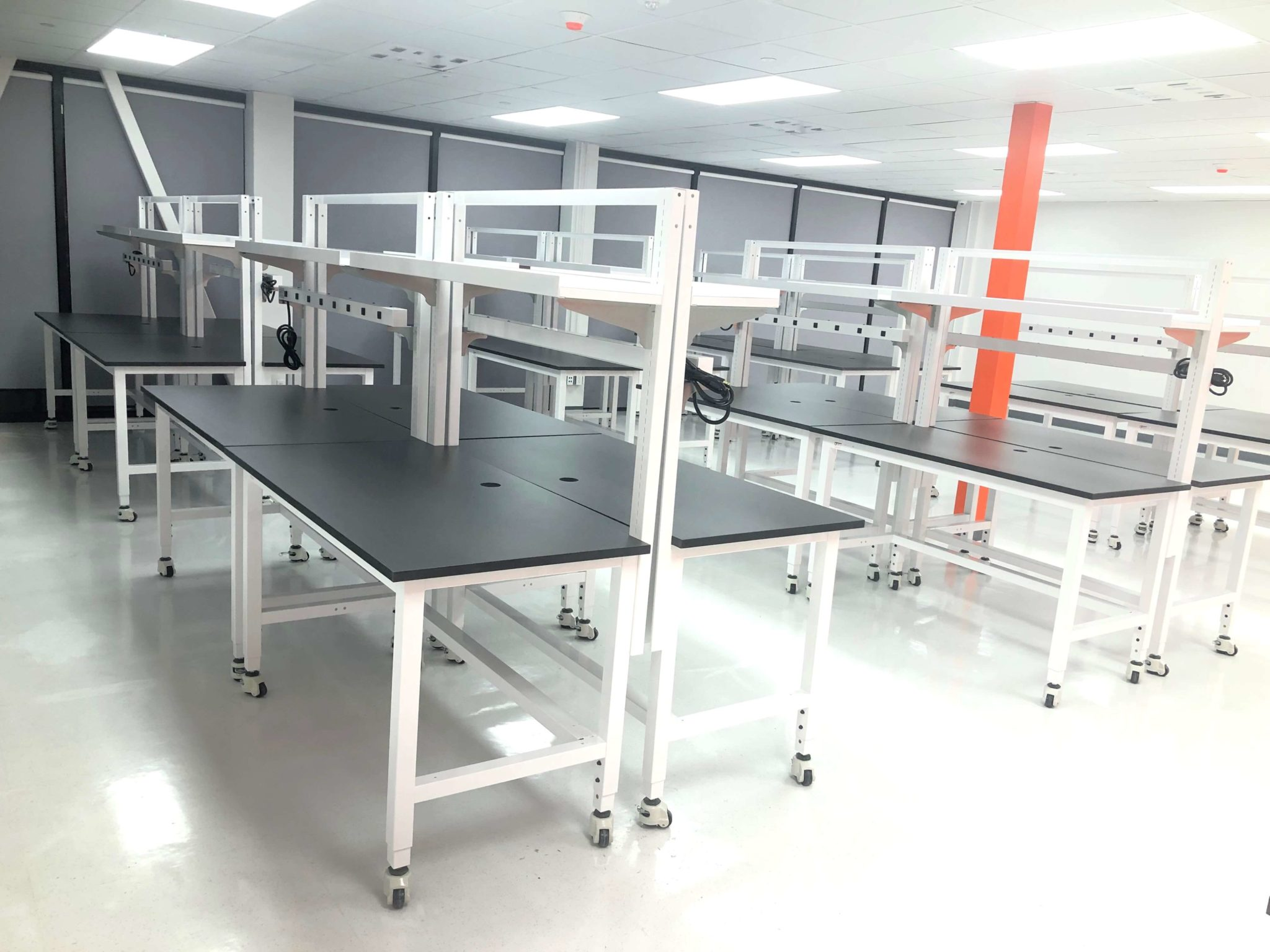 Laboratory Tables and Workstations